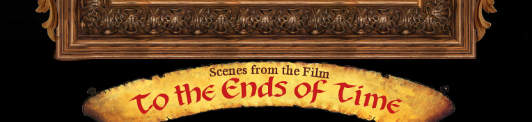 to the ends of time banner,frame,wooded,wood,carved